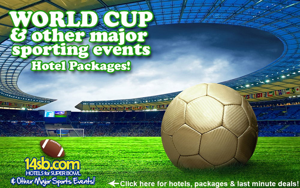 CLICK HERE for a list of available HOTELS for FIFA WORLD CUP HOTELS, you can BOOK LUXURY hotels such as FASANO, COPACABAN PALACE as well as moderate priced hotels...