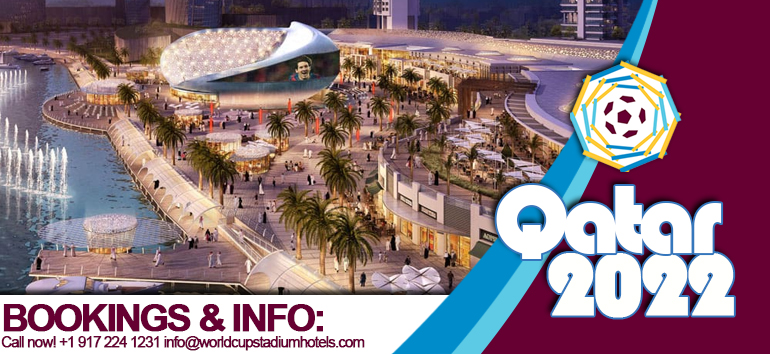 Book now world class luxury Hotels for FOOTBALL World Cup 2022 in Qatar